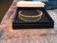 MIU MIU Jeweled double headband 100% Genuine rrp£375 New condition!