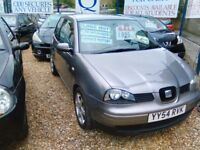 2004 seat arosa 998 cc petrol ideal first car 82.000 miles 2 owners April 18 MOT service history