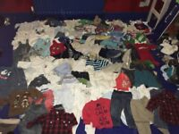 400+piece boys clothes bundle, newborn-3years