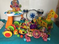 Huge bundle of baby toys..all in excellent condition !!