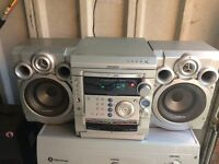 Samsung 3 CD player and cassette