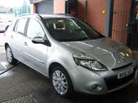 2010 10 PLATE LOW MILAGE CLIO DCI DIESEL DYNAMIQUE SPORTSWAGON ONLY 58000 NEW MOT 2 KEYS ONLY £3995