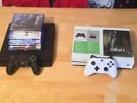 PS4 Slim and Xbox One S SWAP for Gaming PC