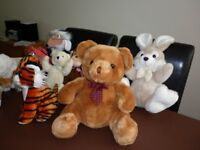 Soft toys collection from plymouth area Hamblys etc all in mint condition £15 for the lot ono