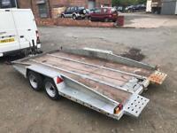 Car Transporter Trailer PRG Tilt Bed