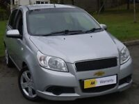 £0 DEPOSIT FINANCE (11) Chevrolet Aveo 1.2 LS 5dr ***IDEAL 1ST CAR** FULL SERVICE HISTORY** ONLY 34K