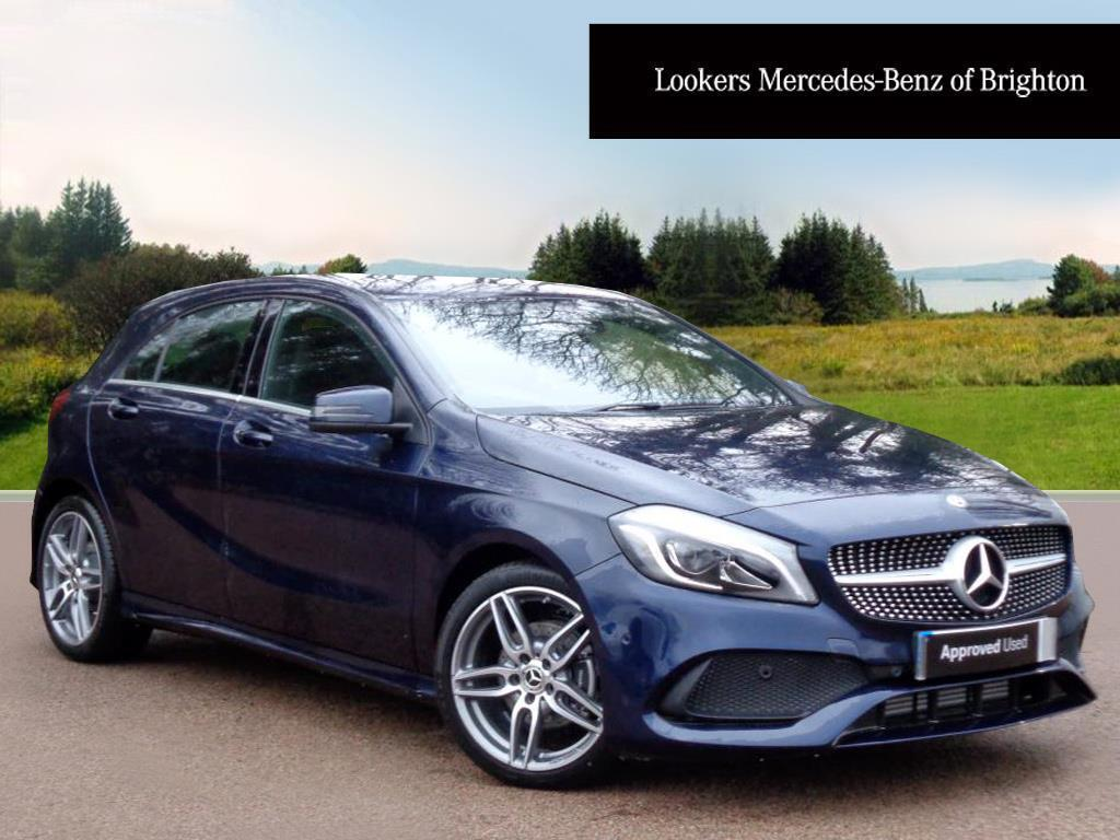 mercedes benz a class a 180 amg line premium blue 2017 12 14 in portslade east sussex gumtree. Black Bedroom Furniture Sets. Home Design Ideas