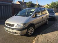 Vauxhall zafira 2.0 DTI 52 plate long mot low miles very good condition £800