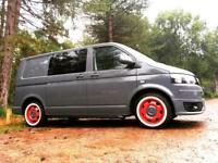 VW T5 Retro Sports Pack - Flat Grey