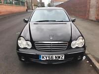 2007 Mercedes c180 lpg converted cheap car