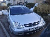Citroen C5 Estate for sale. Big car used daily, Great runner and needs a new home.