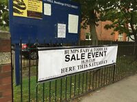 THIS SATURDAY! **Bumps, Babies and Tots SALE EVENT 1st Oct 10.30-13.00**