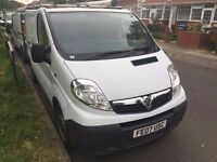 2007 VAUXHALL VIVARO 2900 CDTI SWB. 1 FORMER OWNER. 77000 MILES. HISTORY. BRILLIANT CONDITION.NO VAT