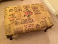 Cottage Style Foot Stool / Coffee Table