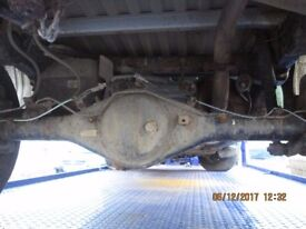 Toyota Hilux Active 2.5 D-4D 4X4 Rear Axle with Leaf Springs and Shockers 2015