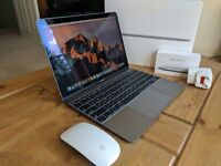"Apple Macbook 2016 12"" 256 excellent condition German keyboard + Magic Mouse 2"