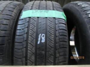 235/60R18 2 ONLY USED MICHELIN A/S TIRES