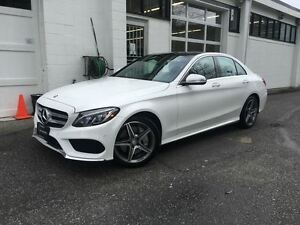 2015 Mercedes-Benz C-Class C400 4MATIC! Local! No Accidents!