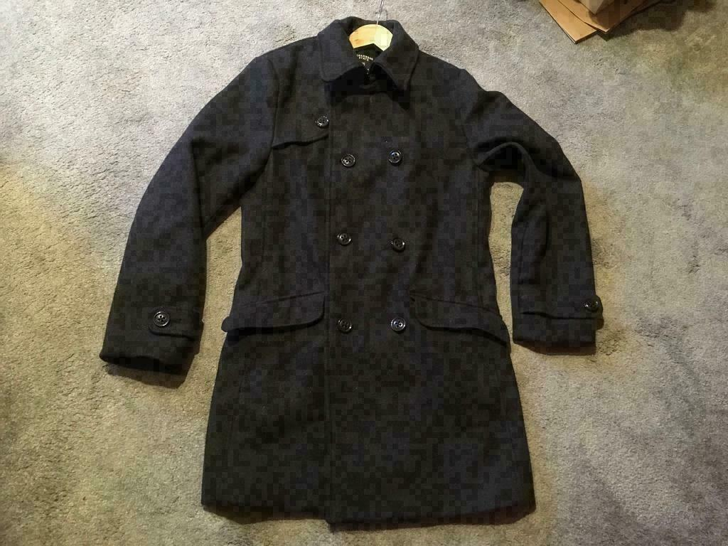 e6515e8fbe2e Mens-Cedarwood-State-Charcoal-Grey-Wool-Pea-Coat-Size-S Used a once ex  condition £12