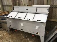 MOBILE LPG FRYING RANGE FOR YOUR FISH N CHIP SHOP
