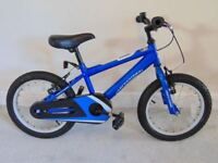"""Professional Sonic Kids' Bike (16"""" tyres, 9.5"""" frame)(suit 4 to 7 year old)"""