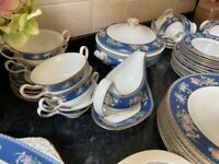 Wedgwood blue Siam China