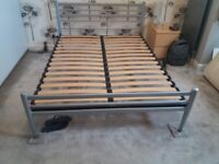 designer king size bed with mattress can deliver