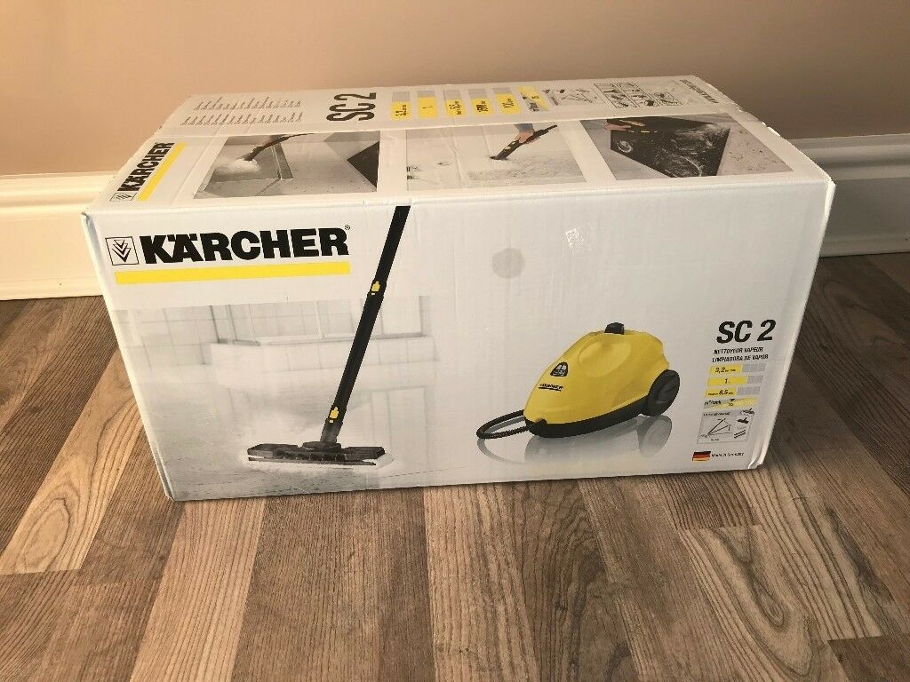 how to open karcher steam cleaner