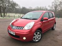 NISSAN NOTE 1.4 TEKNA 2008 - LOW MILEAGE, LONG MOT, RECENTLY SERVICED, EXCELLENT CONDITION