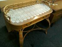 Cane dressing table #27743 £49