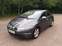 2009 59 REG FACELIFT HONDA CIVIC 2.2 i-CTDi SE FULL HONDA HISTORY ALLOYS MANUAL MOT HPI CLEAR
