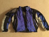 FREE!! Belstaff motorcycle jacket size small with back protector