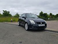 2007 Suzuki Swift Sport VVT 72k 1 yr mot New tyres, pads, springs, timing chain