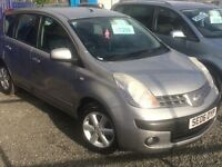 2006 NISSAN NOTE SE 1.4L///FULL YEAR MOT///FULL SERVICE HISTORY