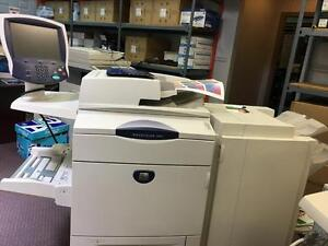 Xerox DC 252 DocuColor Copiers Printers Photocopiers Copy Machine Scanner Fiery Booklet Colour Print copy scan