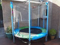 Kids 6ft Trampoline - Good condition - Requires New Netting