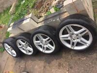 """18"""" Genuine Mercedes Alloys AMG A B C E Class CLK SLK W214 w204 w211"""