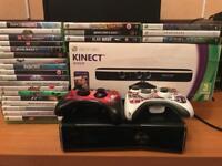 Xbox 360 250Gb plus 26 Games