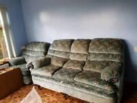 Sofa plus armchair FREE