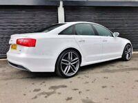 2013 AUDI A6 S LINE 2.0 TDI 177 NOT A3 A4 A5 A7 BMW 320D 330D C220 AMG VW GOLF PASSAT JETTA M SPORT