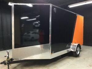 2017 Canadian Trailer Company 7X12 V-Nose Cargo Trailer