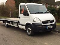 2010 VAUXHALL MOVANO 2.5 6 SPEED RECOVERY/CAR TRANSPORTER BRAND NEW BODY WINCH