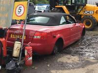 Audi A4 1.8t Convertible 2002 For Breaking