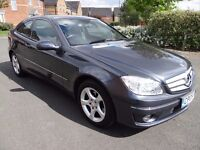 Mercedes-Benz Clc Class 1.8 CLC180 Kompressor SE 2dr LOW MILES ONLY 40K FROM NEW