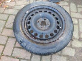 Free Dunlop tyre 190/60R15