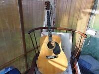 Hohner acoustic guitar