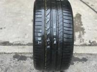 1 part worn tyre 315/35/20 BRIDGESTONE DUELER H/P