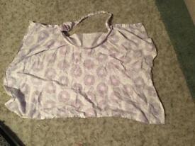 Purple breastfeeding cover