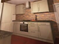 Full Fitted Kitchen units - Wickes - Tiverton Sage