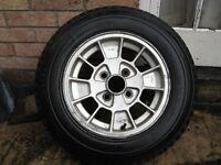 Ford Capri 'S' Alloy Wheel